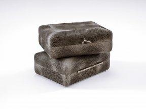 Carbon Shagreen Box