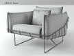 Wireframe armchair 13