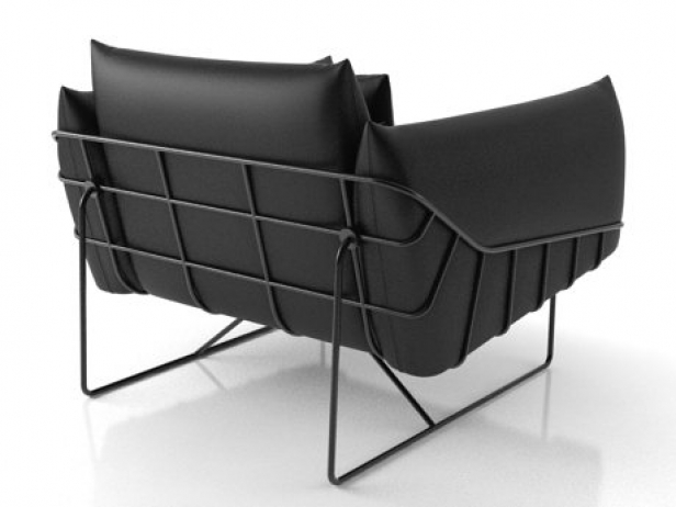 Wireframe armchair 4