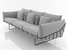 Wireframe sofa 3 seat