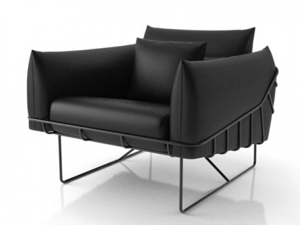 Wireframe armchair 3