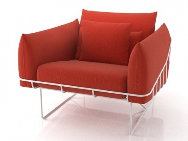 Wireframe armchair 5