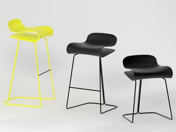 Bcn stool 3d model kristalia for Barhocker 3d download
