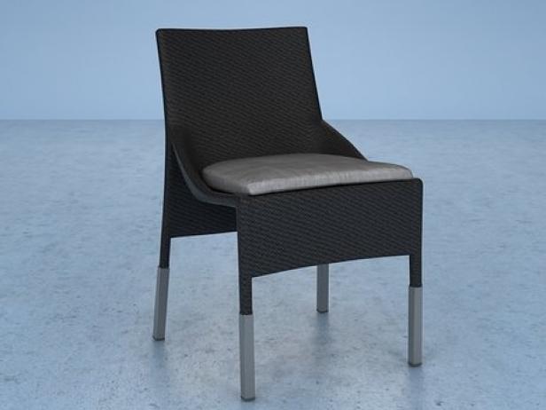 Slim Line Side Chair 3
