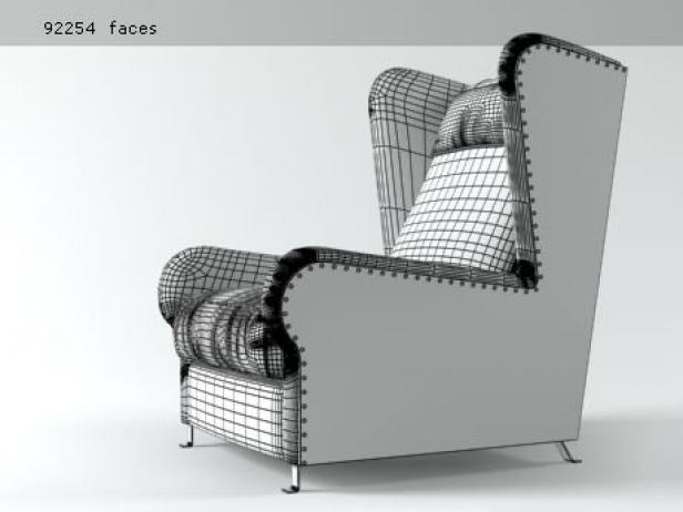 Pochette armchair 7