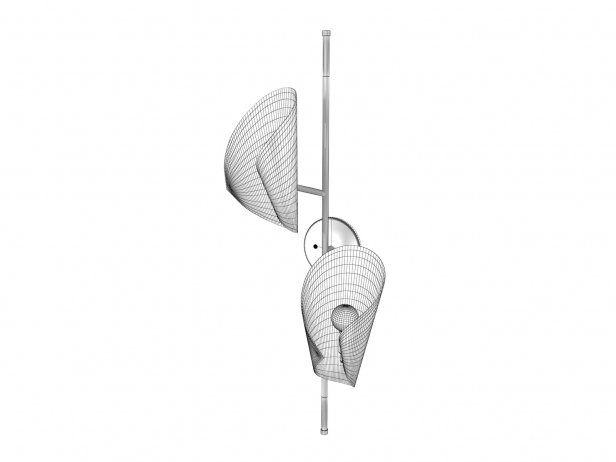 Cigale Double Sconce Wall Lamp 3