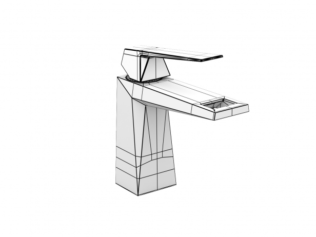 Cube Wall-hung Basin 50 Set 11