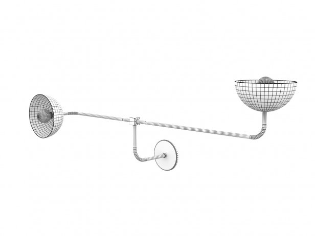 Beaubien Double Shade Wall Lamp 2
