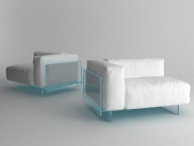 Crystal sofa moduls