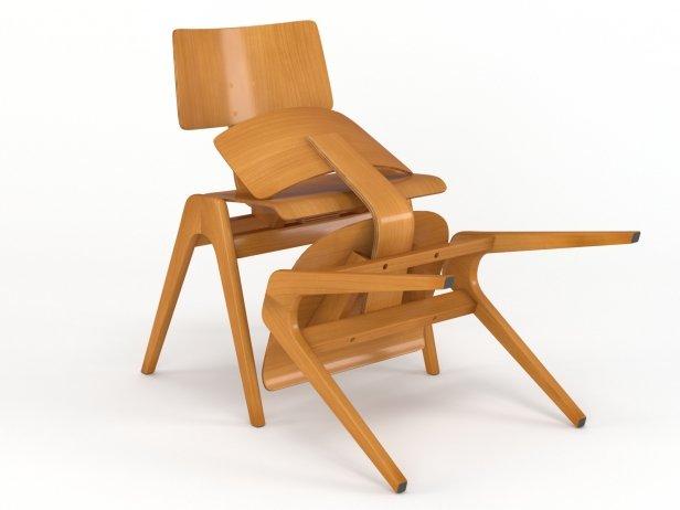 Hille Stak Chair 8