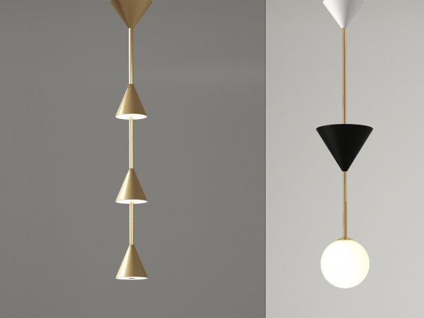 Many Pendant Lamp 1