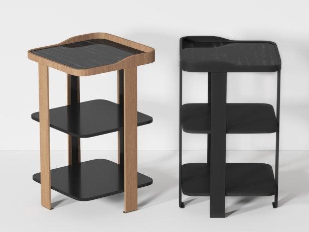Postmoderne Bedside Table 2