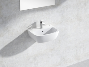 Bau Wall-hung Basin 45 Set