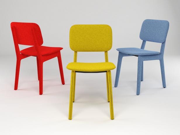 Felt Chair 1