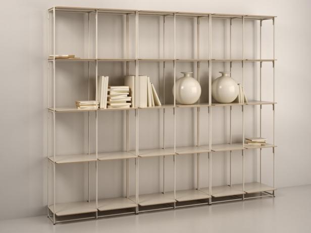 la bibliotheque fil high 3d modell ligne roset. Black Bedroom Furniture Sets. Home Design Ideas