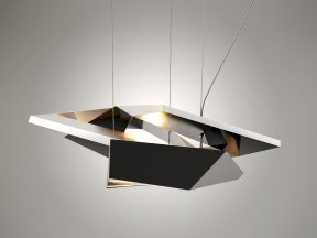Polygon Crash Pendant Light