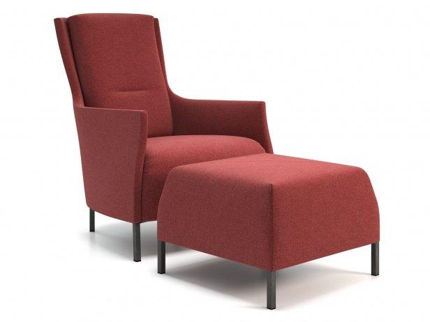 Riga Armchair & Footstool 1