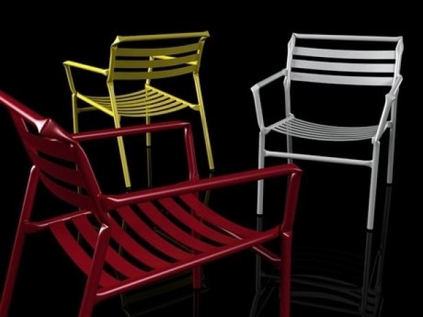 Straw lounge chair 1