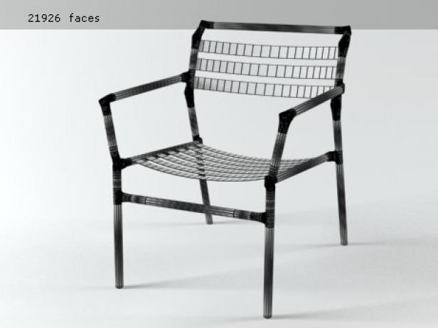 Straw lounge chair 18