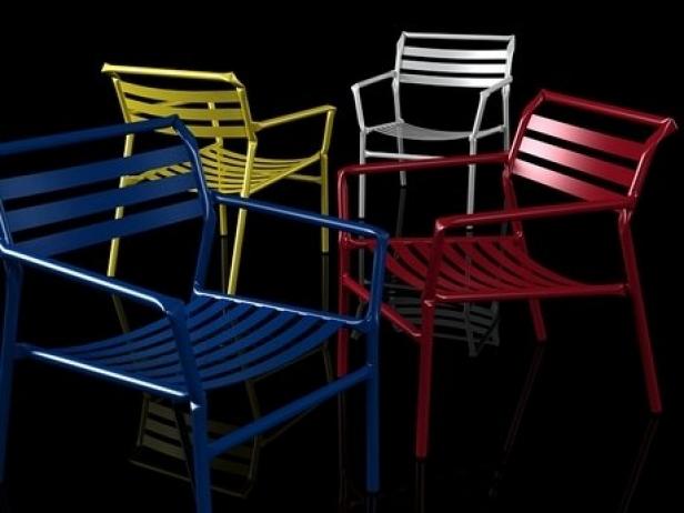 Straw lounge chair 3