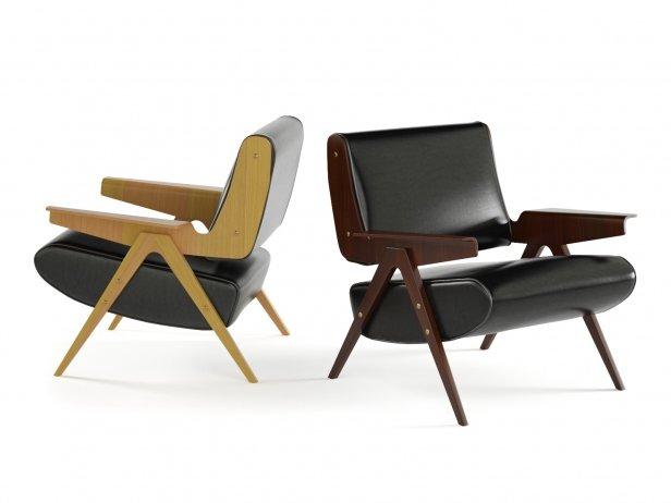 Frattini 831 Lounge Chair 1