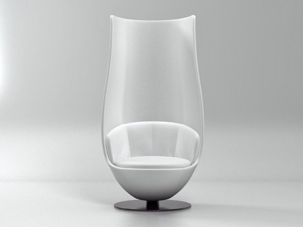Wanders Tulip Chair 3d Model Cappellini Italy