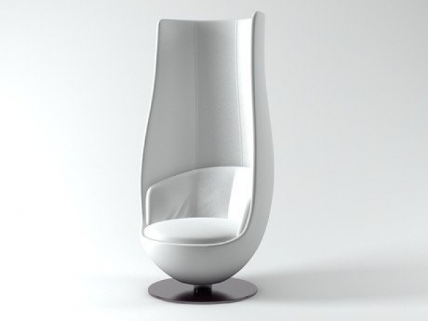 Wanders Tulip Chair 3d Model Cappellini Italy