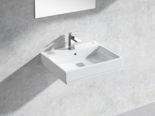 Cube Wall-hung Basin 60 Set 1