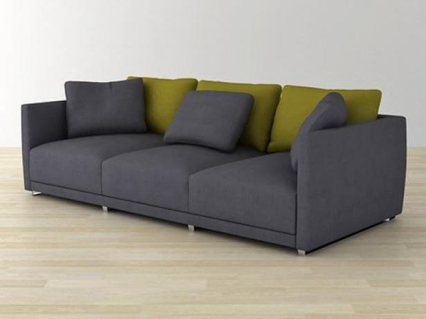 Sketch sofa 3d model ligne roset for Sofa design sketch