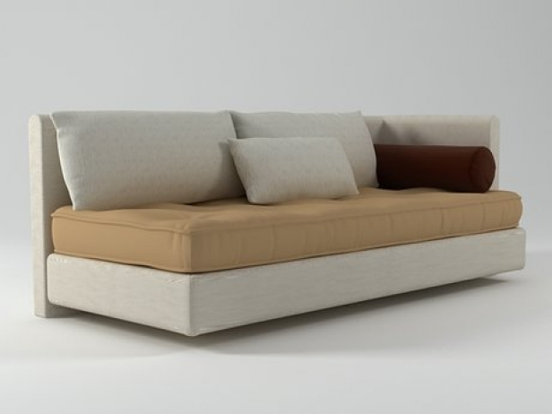 Nomade left arm sofa 3d model ligne roset - Ligne roset nomade sofa ...