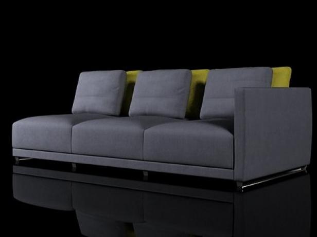 Sketch 1 arm sofa 3d model ligne roset for Sofa design sketch