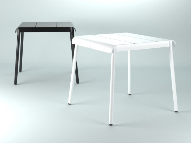 Corail Dining Table Square 1