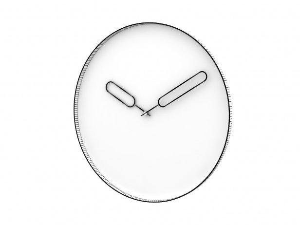 Mirror Clock 3