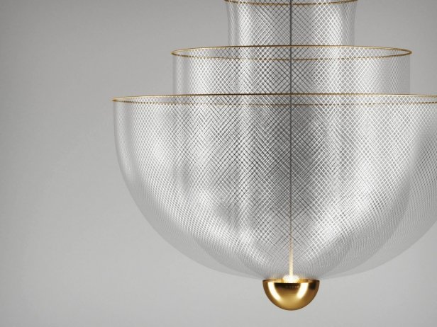 Meshmatics Chandelier 2