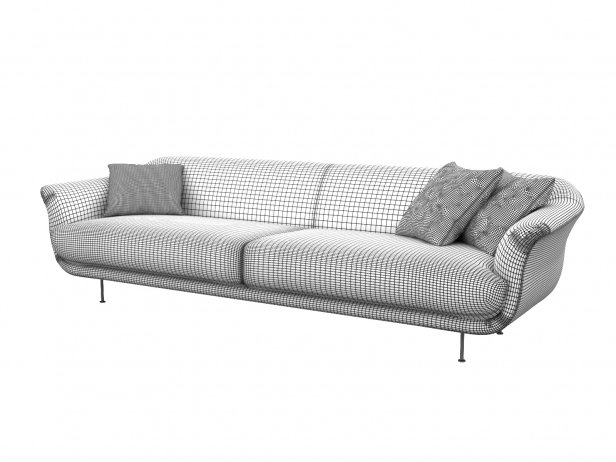 Style 3-Seater Sofa 4