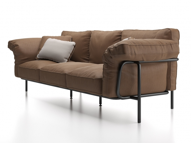 DS-610 3-Seater Sofa 1