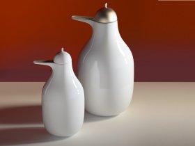 Penguin Ceramic Carafes