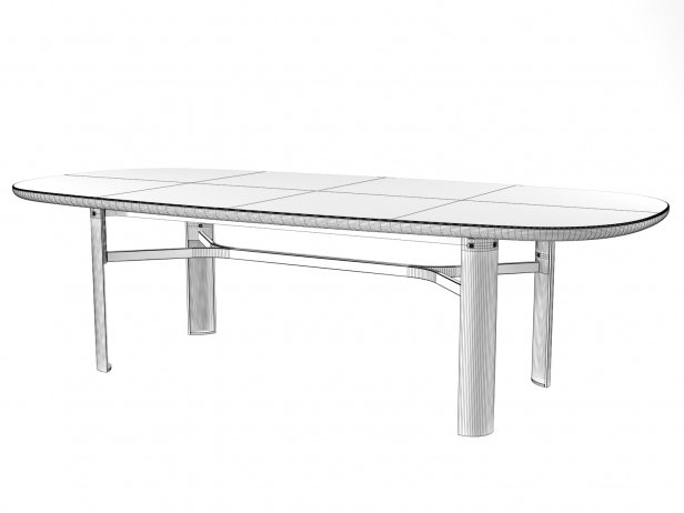 Dan Oval Dining Table 9