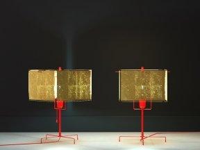 24 Karat Table Lamp