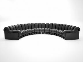 DS-600 Semi-Circle Sofa