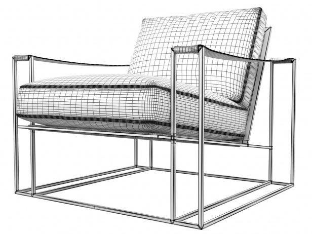 Sling Chair & Ottoman 7