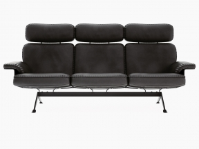 DS-31/113 3-Seater Sofa High Back
