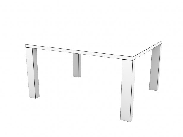 DS-777 Dining Table Composite 12