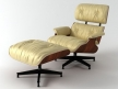 Eames Lounge Chair and Ottoman 3