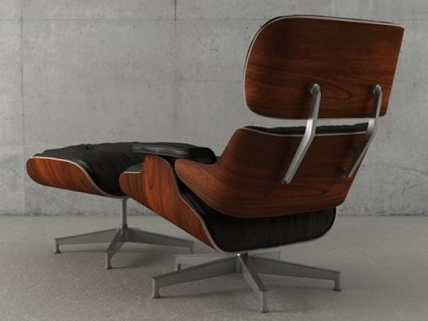 Eames Lounge Chair and Ottoman 5