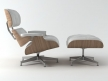 Eames Lounge Chair and Ottoman 10