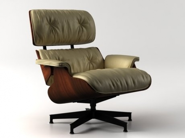 Eames Lounge Chair and Ottoman 12