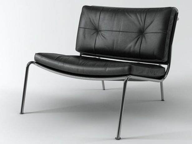 Frog Lounge Chair 3d Model Living Divani