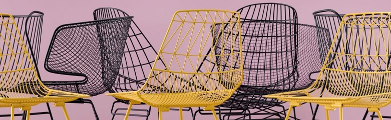 15 Wire Chairs