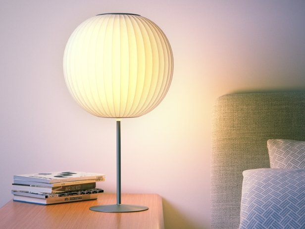 Nelson Bubble Lamp - Ball Table 1